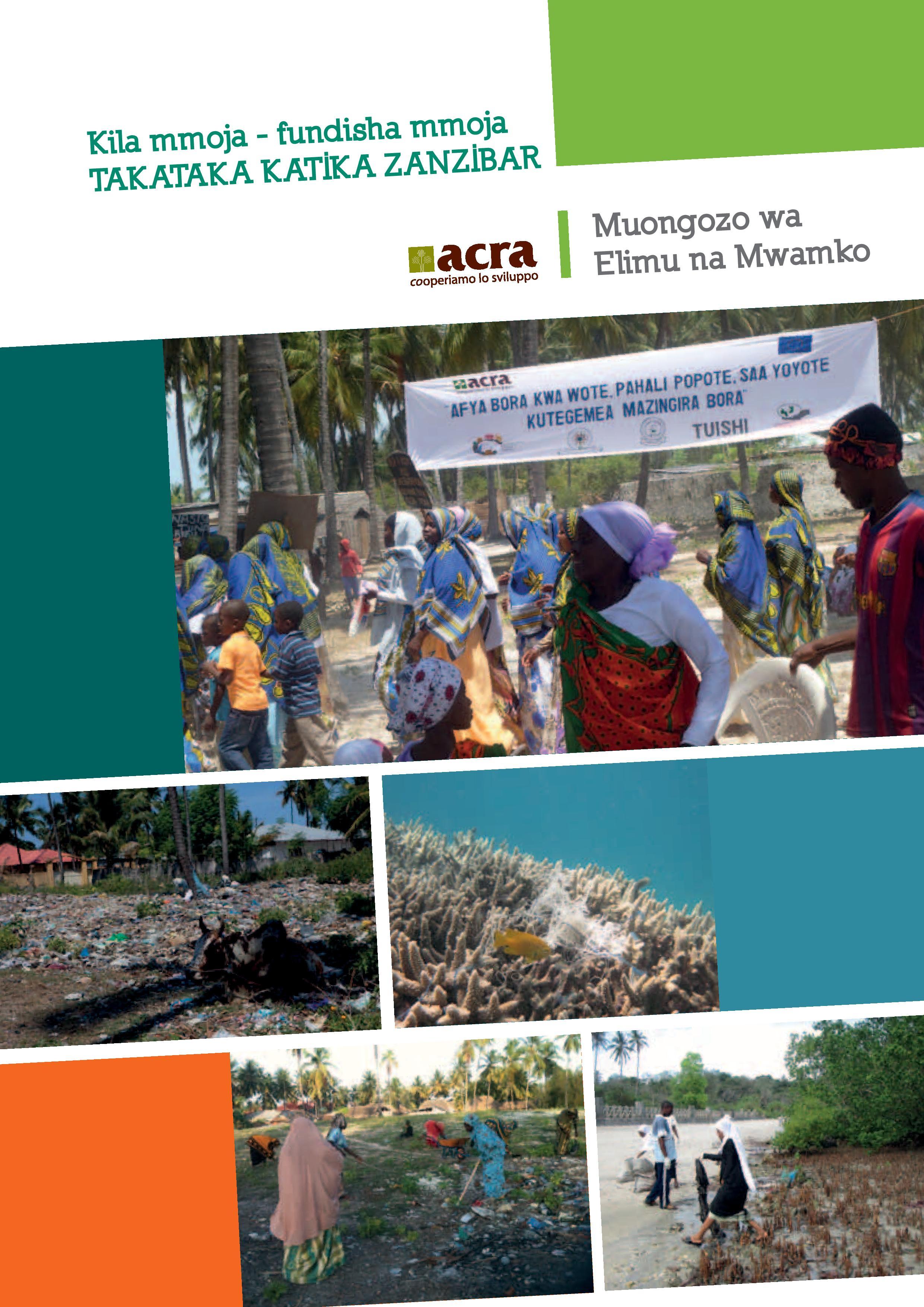 Free download of guide - Takataka katika Zanzibar - Kiswahili
