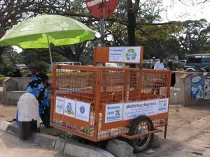 Vikokotoni recycling trolley